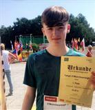 U16 European Javelin Champion
