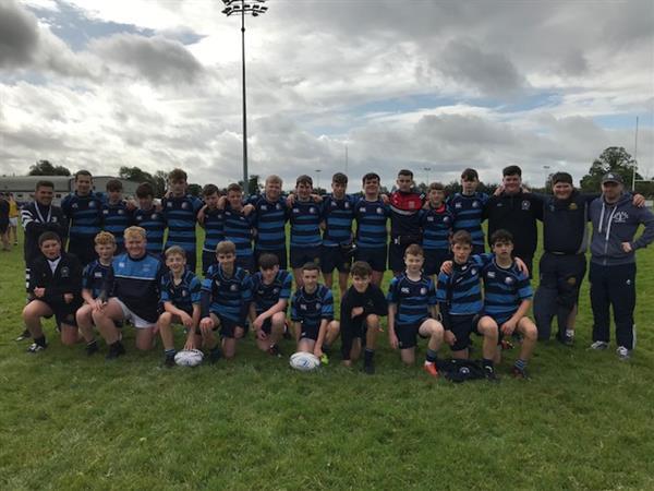 Junior Boy's Rugby Blitz Win