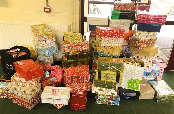 Team Hope Christmas Box Appeal