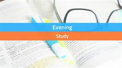 Evening Study Application Form Jan. 2021 - May 2021