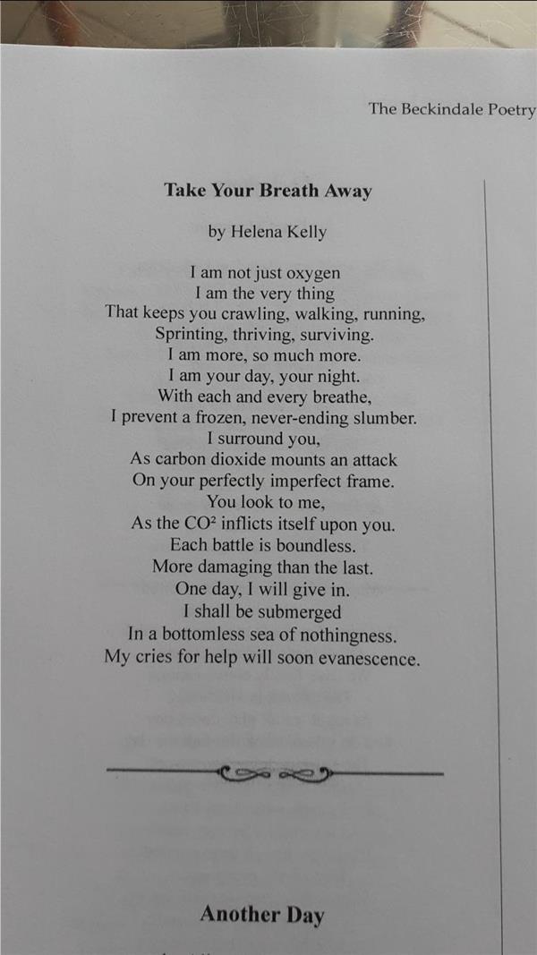 Congratulations to Helena Kelly